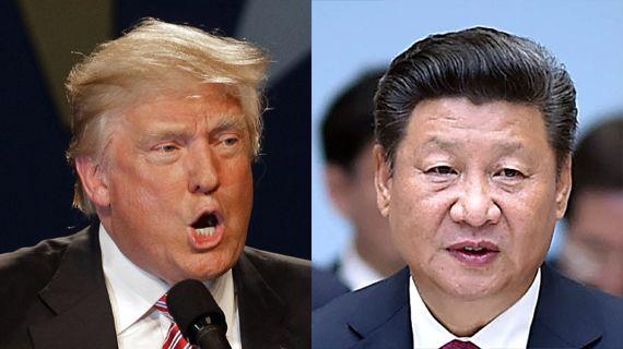 도널드 트럼프(미국 대통령 당선인·왼쪽), 시진핑(중국 국가주석)