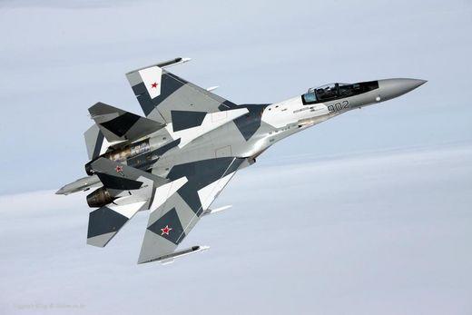 러시아 4.5세대 전폭기 Su-35 [사진 러시아 국방부]