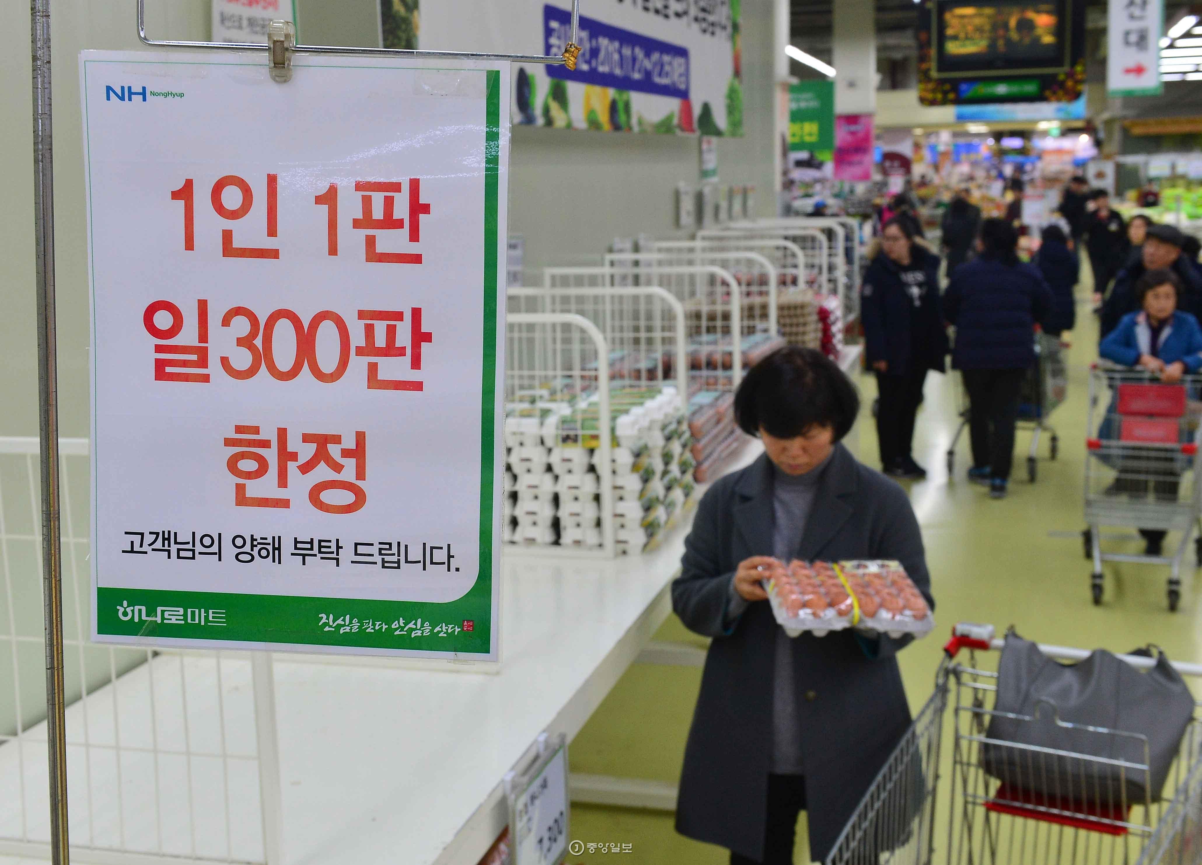 AI 영향으로 시장에 계란 공급이 부족하자 가격이 치솟았다.