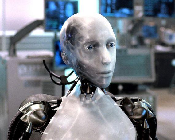 인공지능 로봇의 발전이 급속화하면서 가까운 미래에 인간과 로봇 간의 결혼 가능성도 예측된다. 사진은 영화 `아이로봇`의 한 장면.