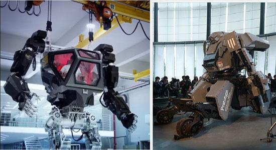 한국 로봇 메소드(왼쪽)과 일본 로봇 쿠라타스(오른쪽) [사진 유튜브, 위키피디아 캡처]