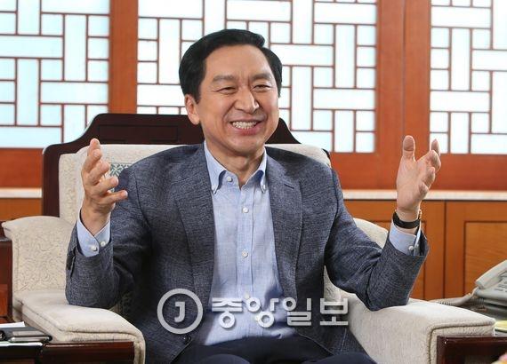김기현 울산시장. 송봉근 기자