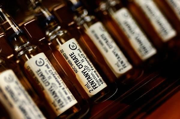 환각 효과가 높은 마취제 `펜타닐`이 미국에서 마약 대용으로 확산되고 있다. [AP=뉴시스]