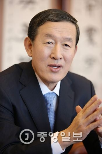 허창수 전국경제인연합회 회장. [중앙포토]