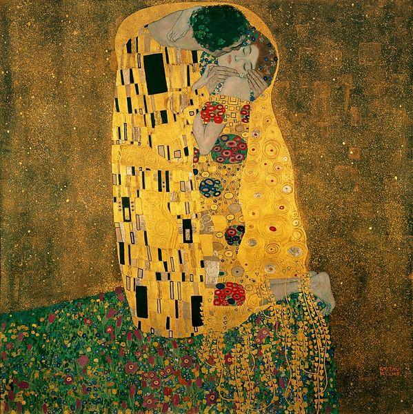 구스타프 클림트, 키스, 1907~1908년