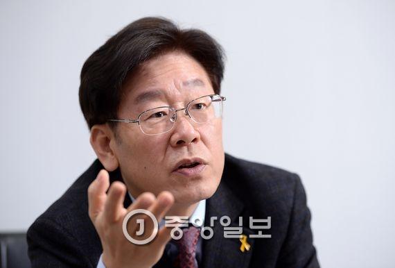 이재명 성남시장. 김현동 기자