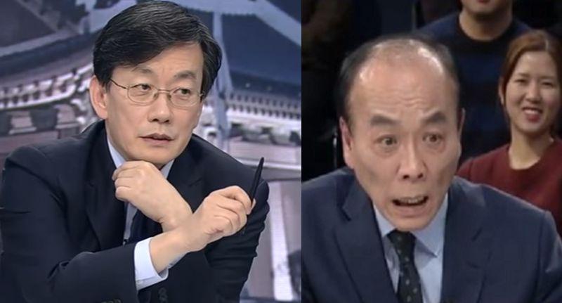 [사진 JTBC 뉴스룸 신년토론]