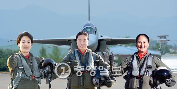 박지원 소령·박지연 소령·하정미 소령.(왼쪽부터)