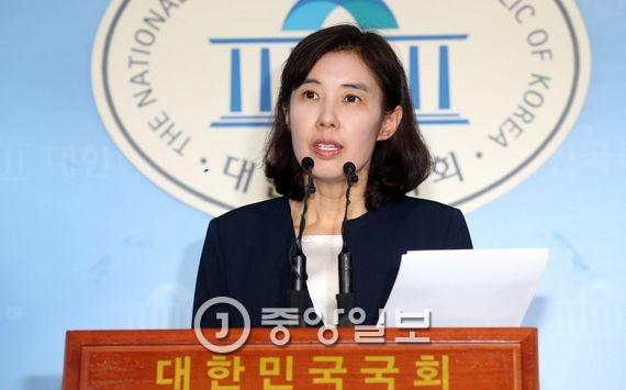 박경미 더불어민주당 대변인. 김상선 기자
