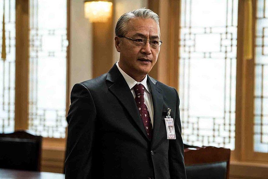 영화 `판도라`에서 총리로 나오는 이경영 배우.