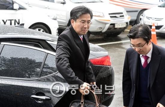 박근혜 대통령 측 대리인인 손범규(왼쪽)ㆍ채명성 변호사