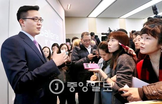 한화 김승연 회장의 3남 김동선(왼쪽)씨.