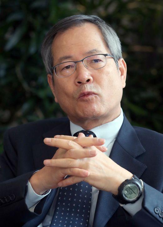 천영우 이사장은 북한 비핵화에 있어서 지금이 매우 중요한 시기라는 점을 강조했다. [사진 최정동 기자]