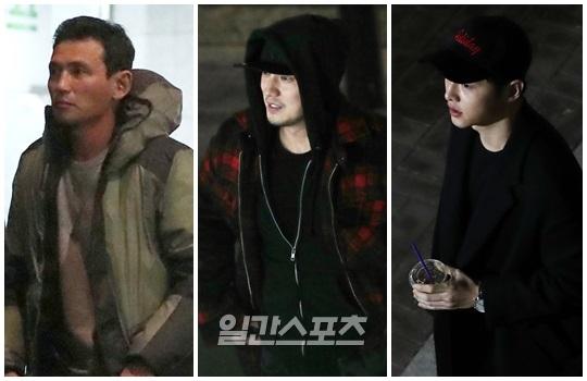 `군함도` 주연 3인방 황정민·소지섭·송중기