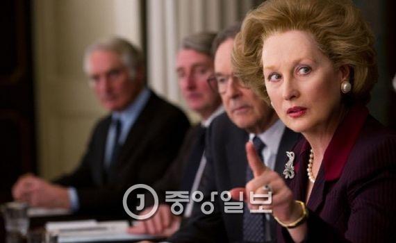 영화 `철의 여인`에 출연한 배우 메릴 스트립