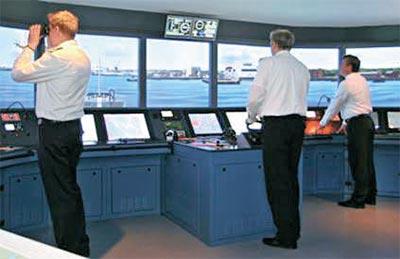 포스코대우가 인도네시아 경찰청에 납품할 함정 승조원 훈련용 시뮬레이터. [사진 포스코대우]