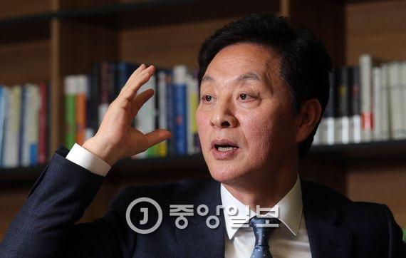 정두언(새누리당 의원). 김상선 기자