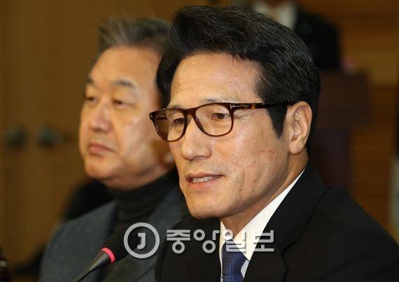 정병국 바른정당 창당준비위원장. 김현동 기자