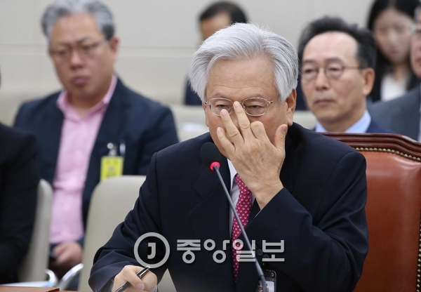 고영주 방송문화진흥회 이사장. [중앙포토]