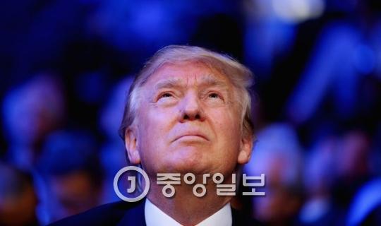 오늘 미국의 제45대 대통령에 취임하는 도널드 트럼프.