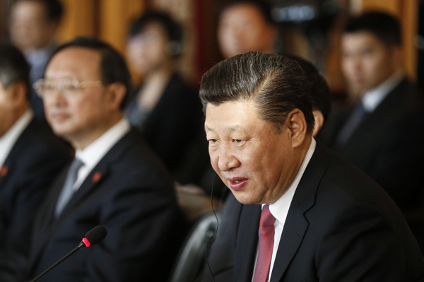 시진핑 중국 국가주석. [사진 중앙포토]