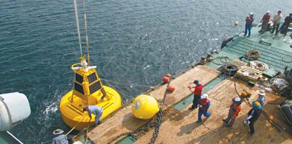 한국가스공사는 생산기지 주변 해양환경 빅데이터 공유를 통해 지역어민 어로활동 증진 등의 성과를 내고 있다. 기관 간의 협업·협력을 통한 정부3.0 실현 사례로 주목 받고 있다. [사진 한국가스공사]