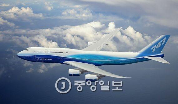 보잉 747-8.