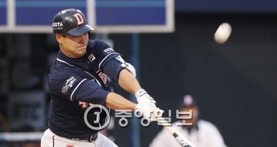 두산 민병헌 [중앙포토]