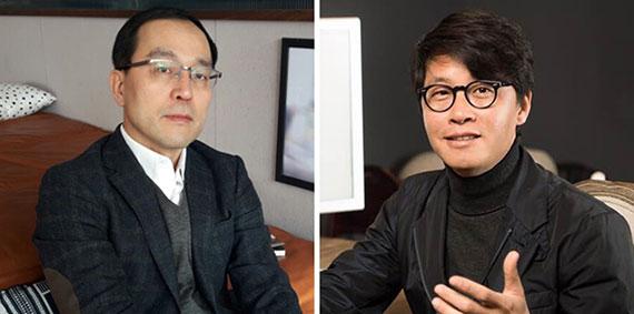 변창우(左), 조좌진(右)