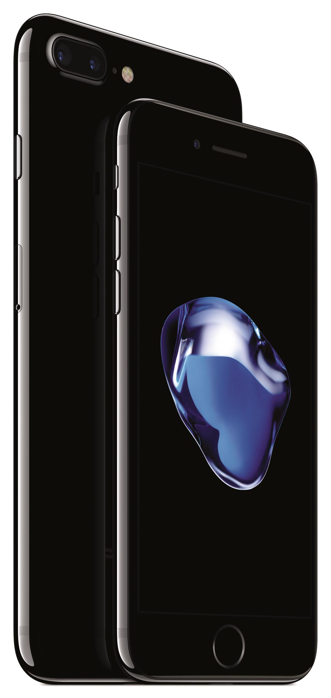 애플 아이폰7 제트블랙. [중앙포토]