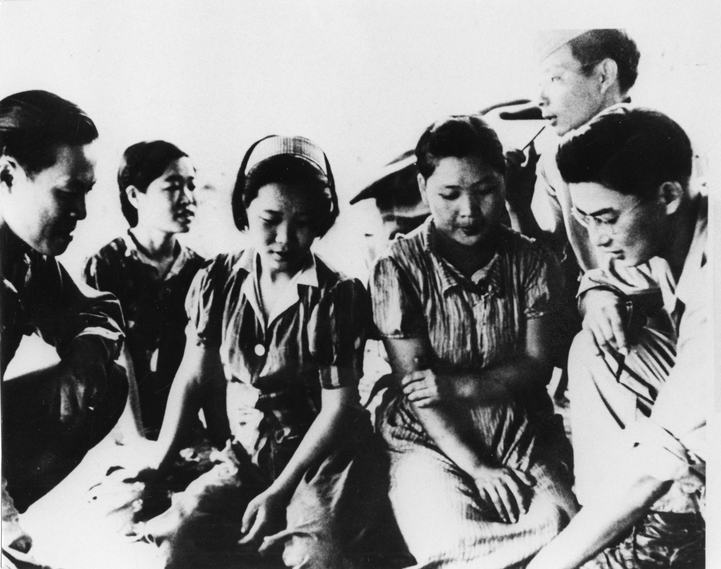 일제 강점기 당시 군에 끌려간 조선인 위안부. 대개 17~20세였던 이들은 꽃다운 시절을 지옥같은 곳에서 보냈다. [중앙포토]