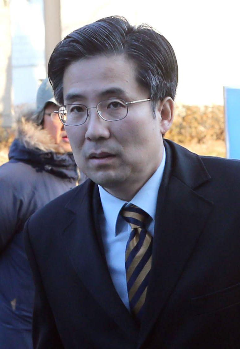 박근혜 대통령의 변호인단으로 활동하고 있는 손범규 변호사. [중앙포토]