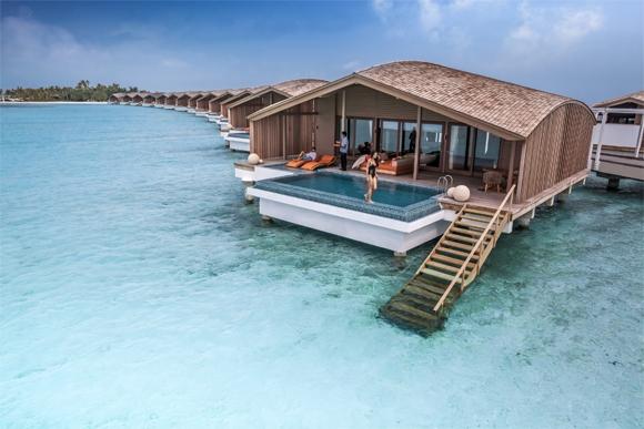 지난해 신혼부부들이 가장 많이 떠난 허니문 여행지는 인도양 섬나라 몰디브가 1위로 조사됐다.[사진 클럽메드]
