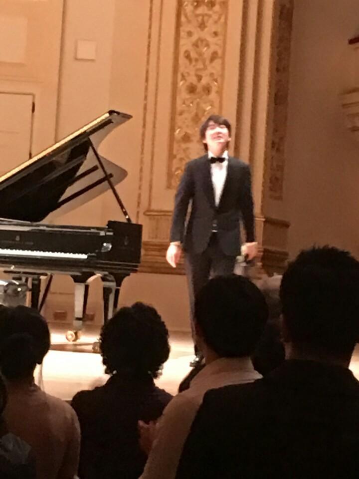 22일 카네기홀에 데뷔한 피아니스트 조성진