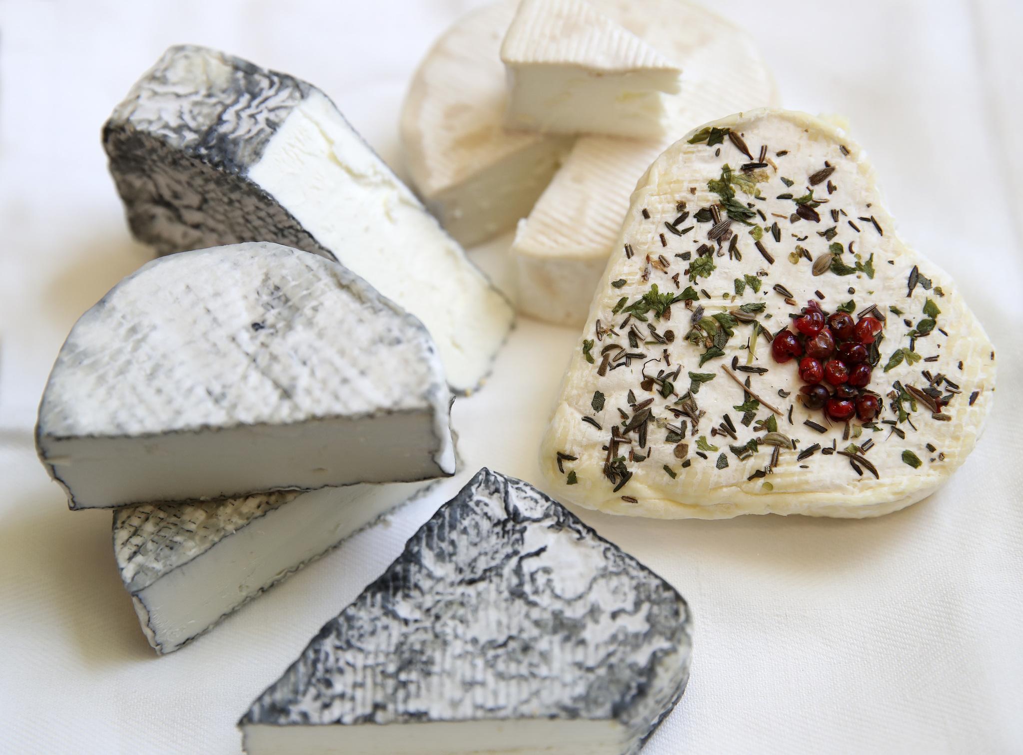 미국 최고 치즈장인인 김소영 대표가 만든 치즈들.