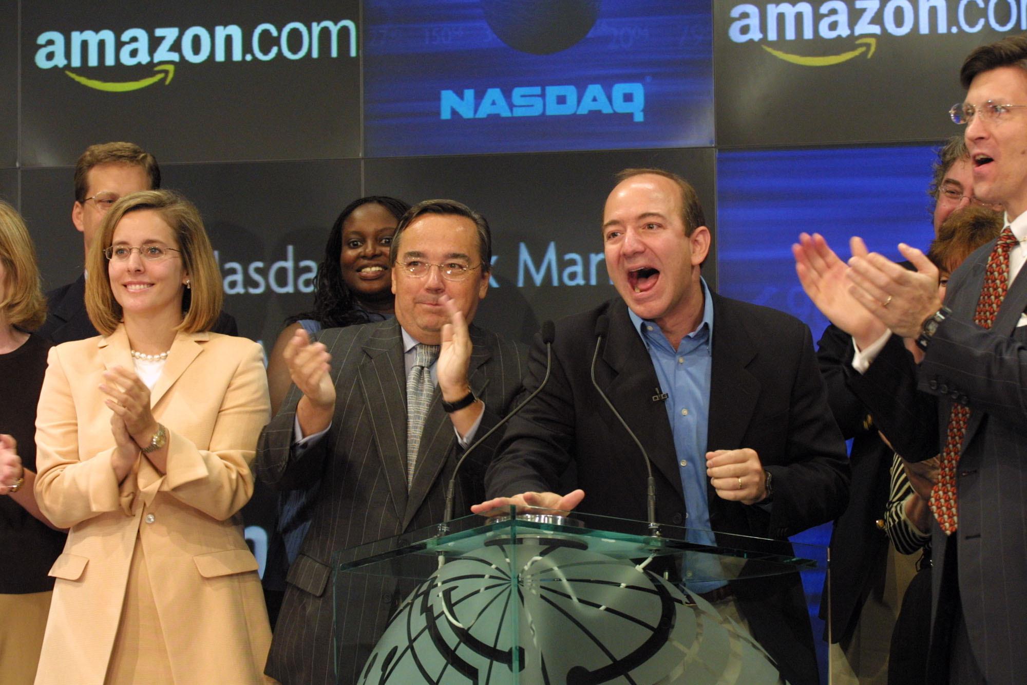 아마존 CEO 제프 베조스. [중앙포토]