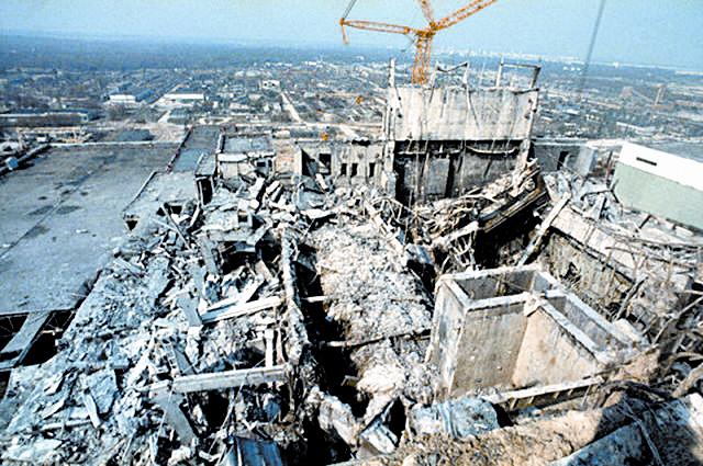 2011년 동일본 대지진으로 인한 후쿠시마 원전 사고. [AP=뉴시스]