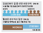 임금근로자 열 중 셋은 비정규직. 월급은 정규직의 절반.  [자료제공=통계청]