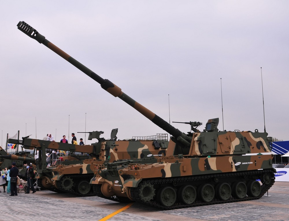 K-9 자주포 '선더(Thunderㆍ천둥)'