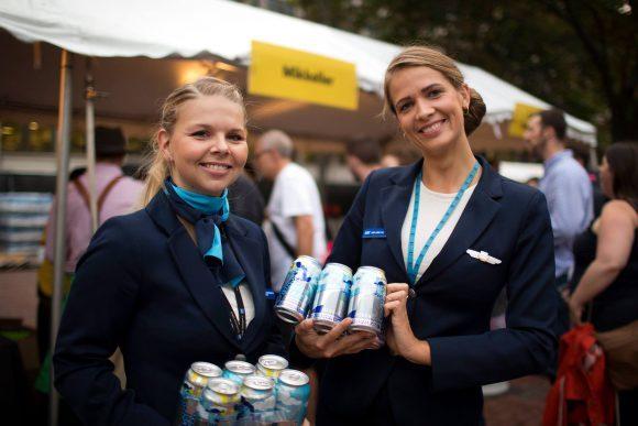 미켈러가 2014년 처음 선보인 기내 전용 맥주.