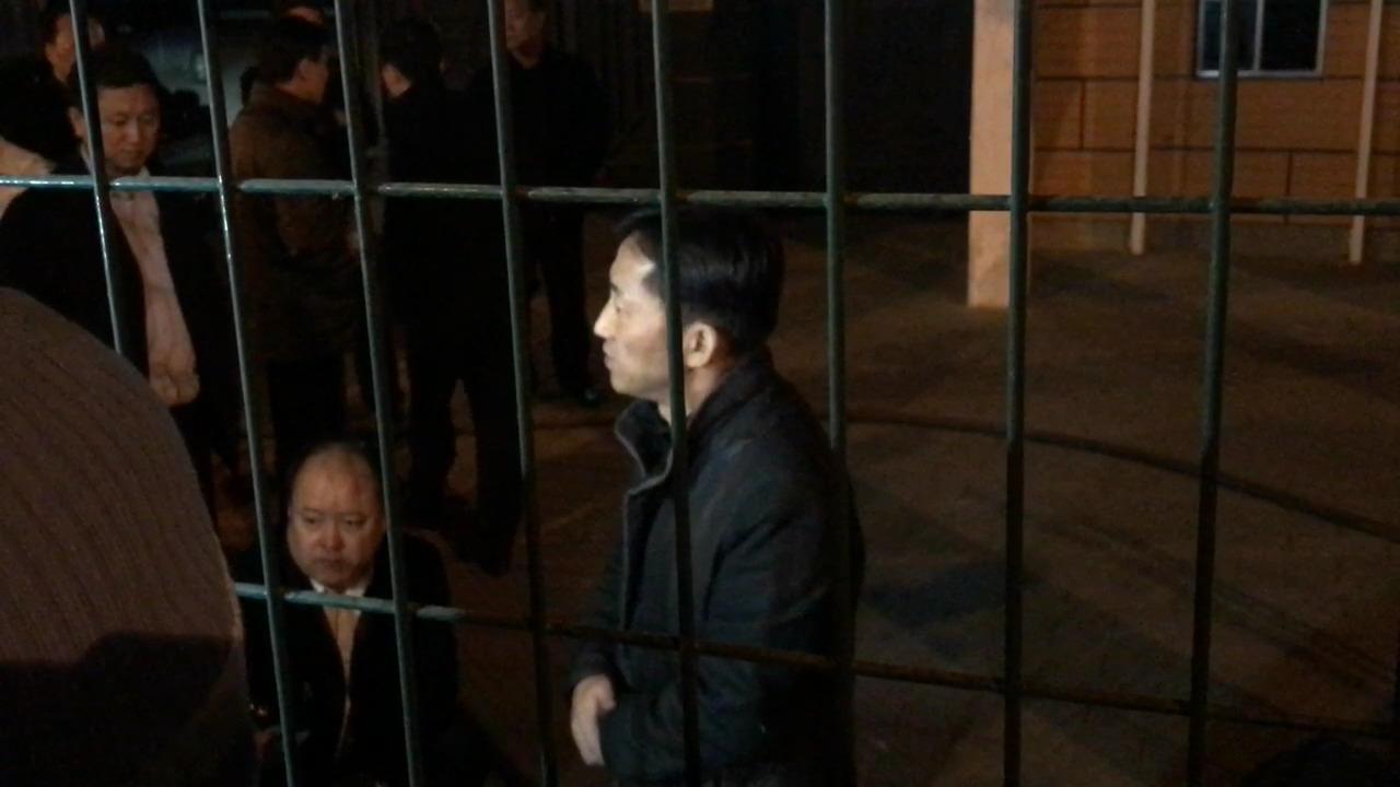 베이징에 있는 주중 북한대사관에서 기자회견을 하는 이정철. 베이징=신경진 특파원