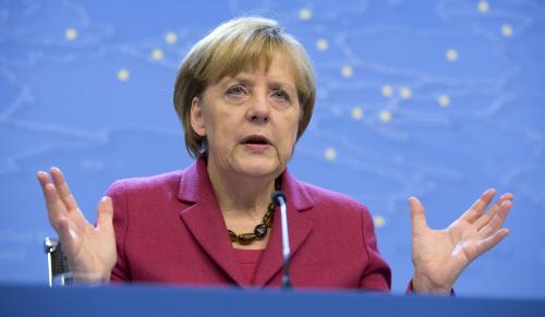 앙겔라 메르켈 독일 총리.