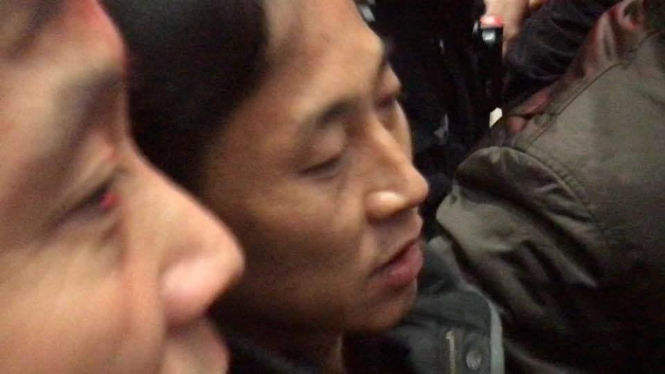 중국 베이징 공항에 도착한 이정철(46).