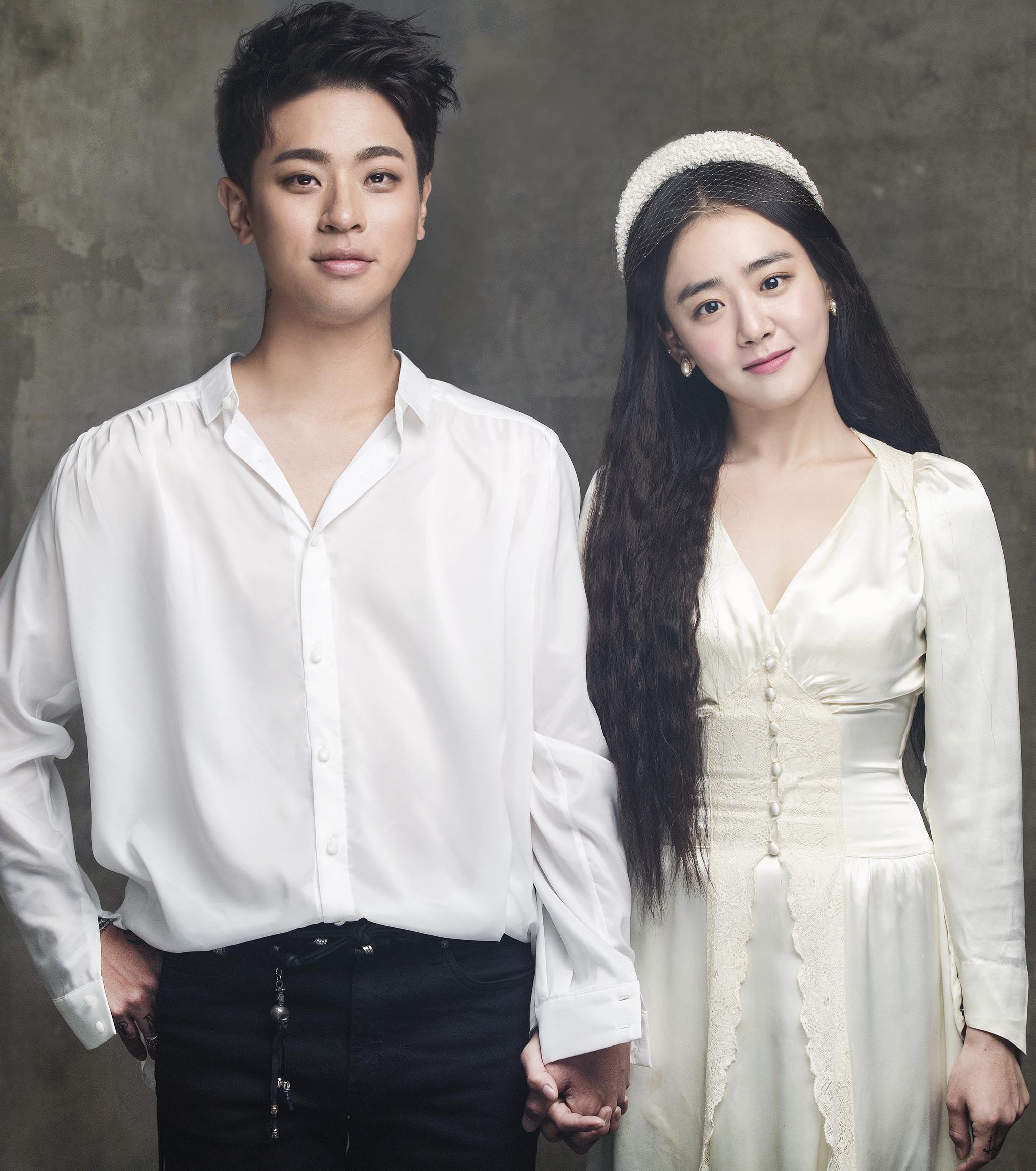 연극 '로미오와 줄리엣' 주연 배우 박정민과 문근영.    [자료제공=샘컴퍼니]