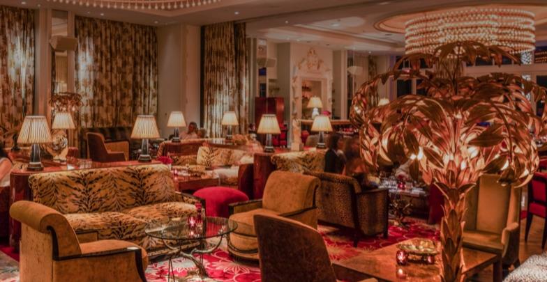 파에나 호텔의 '리빙룸'