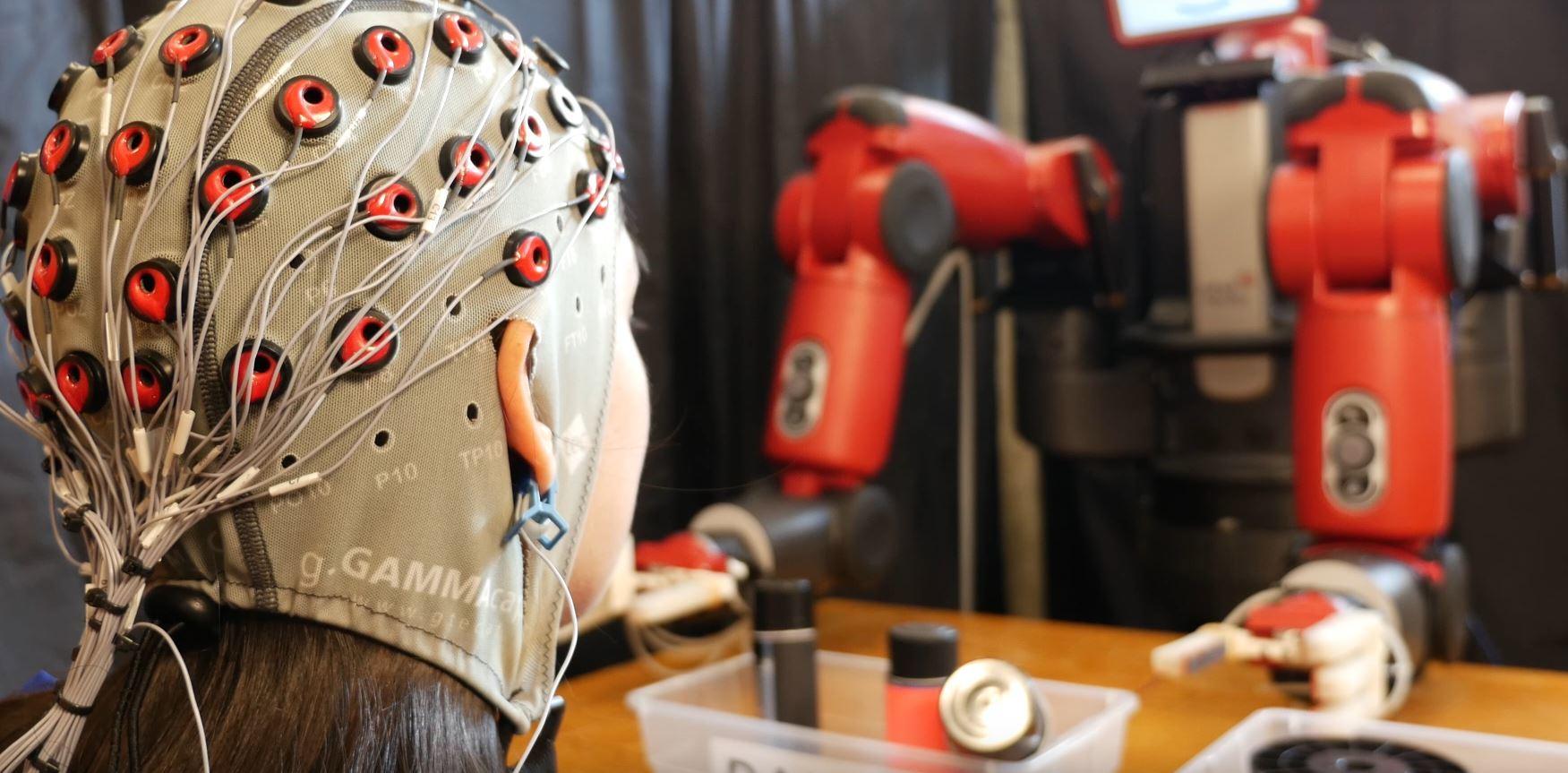 美 MIT...인간의 생각으로 조종하는 로봇 개발