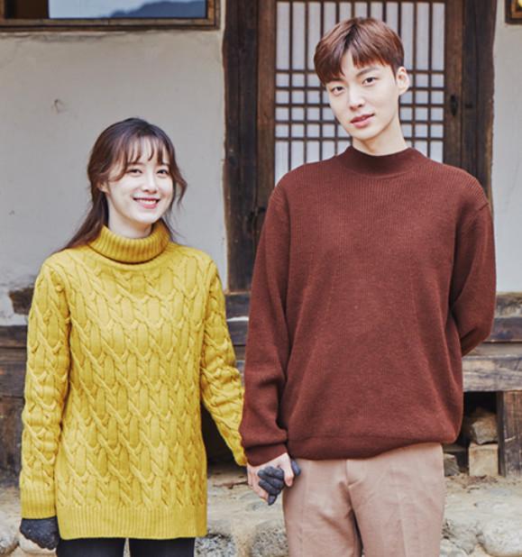 '신혼일기' 포스터 촬영 현장의 안재현 구혜선 부부. [사진 tvN]