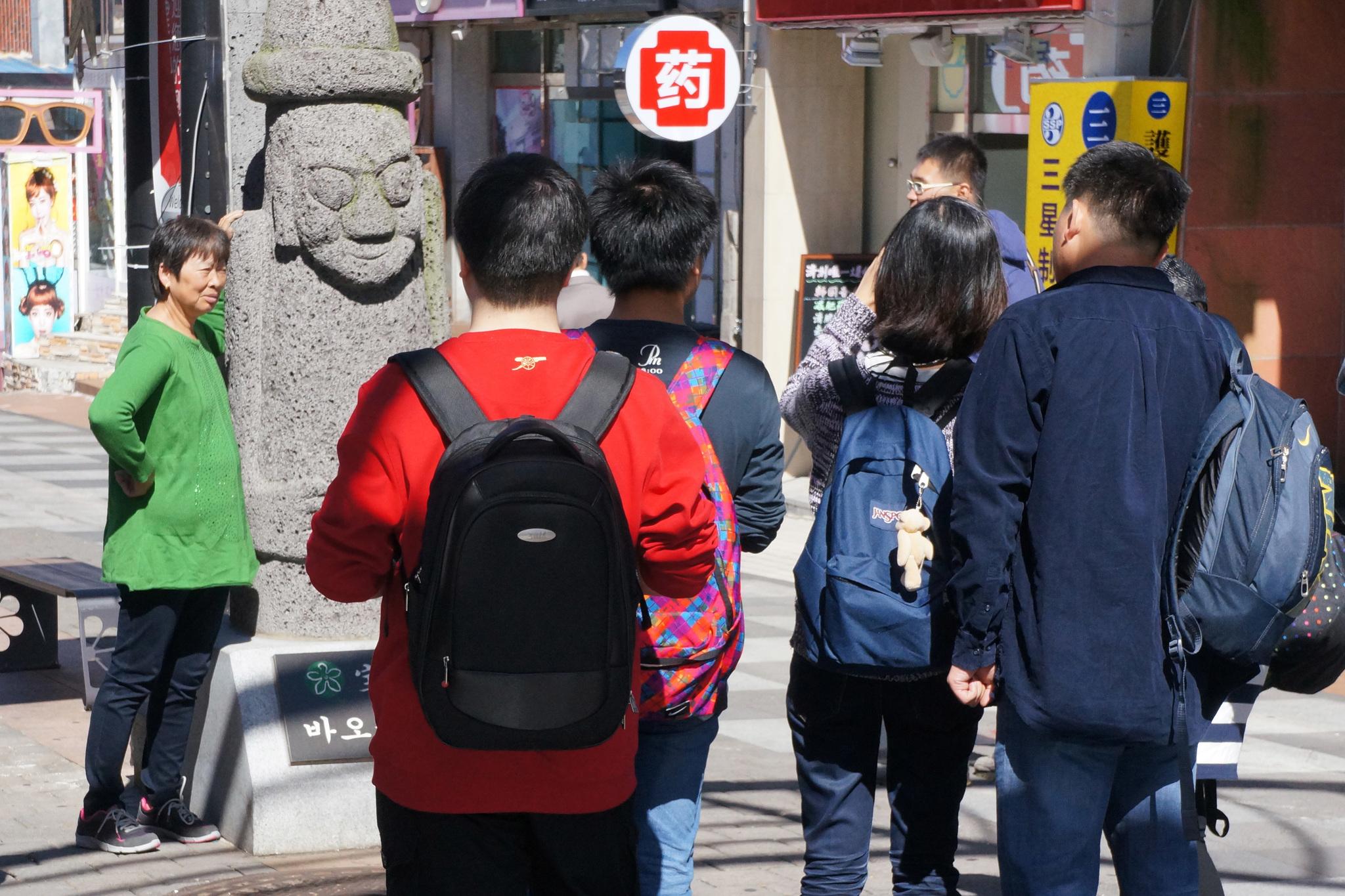 중국인 관광객이 많이 찾는 제주 연동 '바오젠 거리' [중앙포토]