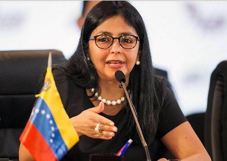 델시 로드리게스 베네수엘라 외교장관