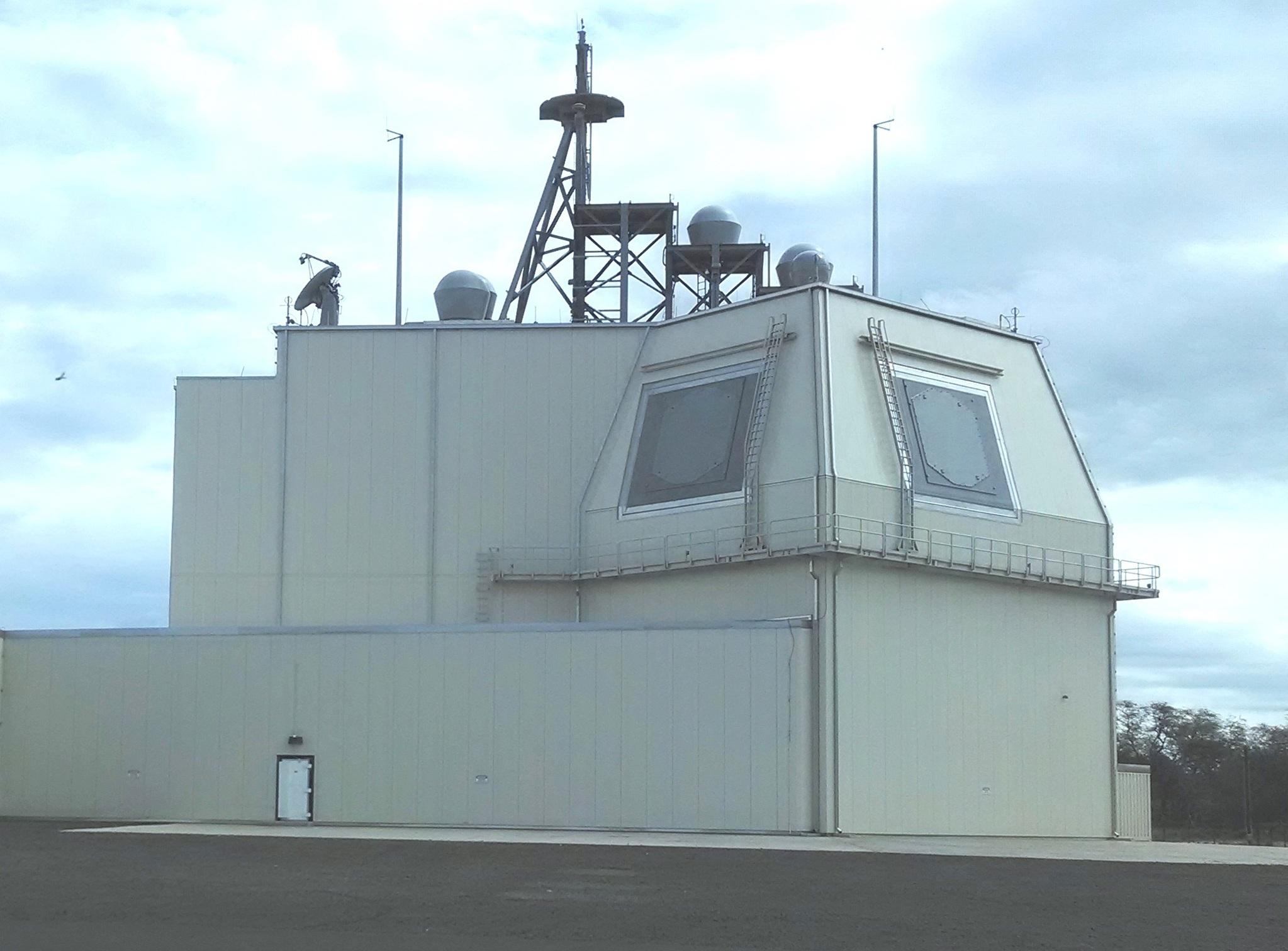 록히드마틴이 개발한 지상형 이지스(Aegis Ashore) 체계. [미 해군]